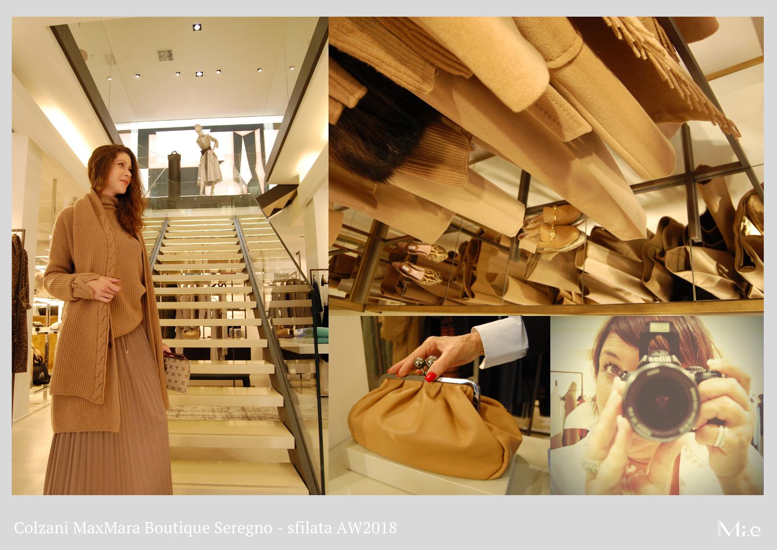 Sfilata in boutique - Colzani MaxMara - Gruppo Mi.e c12d600249b